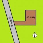 埼玉 さいたま市 土地 東浦和駅徒歩10分! 47坪