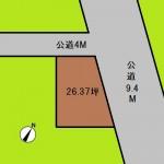 埼玉 さいたま市 土地 浦和駅徒歩6分! 26坪