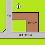 埼玉 さいたま市 土地 鉄道博物館駅徒歩8分! 37坪
