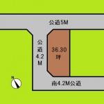 埼玉 川口市 土地 戸塚安行駅 36坪