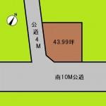 埼玉 さいたま市 土地 西大宮駅徒歩9分! 43坪