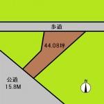 埼玉 蕨市 土地 北戸田駅 44坪