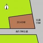 埼玉 さいたま市 土地 北与野駅徒歩5分! 20坪