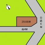 埼玉 さいたま市 土地 東大宮駅徒歩8分! 29坪
