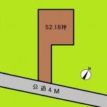 埼玉 蓮田市 土地 蓮田駅徒歩7分! 52坪