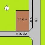 埼玉 伊奈町 土地 羽貫駅徒歩8分! 37坪