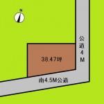 埼玉 さいたま市 土地 大和田駅 38坪