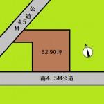 埼玉 さいたま市 土地 北大宮駅徒歩4分! 62坪