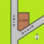 埼玉 さいたま市 土地 与野駅 21坪