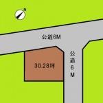 埼玉 川口市 土地 南鳩ヶ谷駅徒歩9分! 30坪