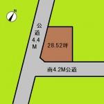 埼玉 上尾市 土地 上尾駅 28坪