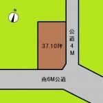 埼玉 さいたま市 土地 与野本町駅徒歩10分! 37坪