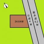 埼玉 さいたま市 土地 中浦和駅徒歩6分! 34坪