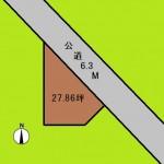 埼玉 さいたま市 土地 さいたま新都心駅徒歩9分! 27坪