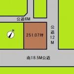 埼玉 さいたま市 土地 東浦和駅 251坪
