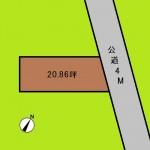 埼玉 さいたま市 土地 浦和駅徒歩7分! 20坪