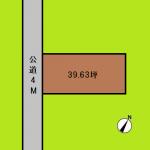 埼玉 川口市 土地 南鳩ヶ谷駅 39坪